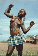 Africa > Congo - Kinshasa (ex Zaire) Via Yugoslavia- Little Dancer / Petite Danceuse. Topless Girl.- Nice Stamps - Congo - Kinshasa (ex Zaire)