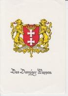 Kunstler, Illustrateur - Danzig,Gdansk - Das Danziger Wappen - Paul Rosenberg Verlag, Unused - Poland