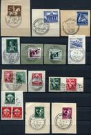 40518) DEUTSCHES REICH - Lot Sonderstempel - Briefmarken