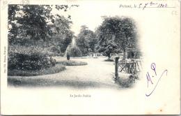 62 FREVENT - Le Jardin Public - France