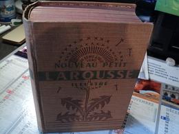 NOUVEAU PETIT LAROUSSE ILLUSTRE. 1939. JE SEME A TOUT VENT...  JOLIE RELIURE D EPOQUE AU PISSENLIT. - Dictionaries