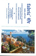 Petit Calendrier De Poche -   2003     -      ROQUEBRUNE CAP MARTIN  Peinture Huile  -   Fabric'Or     Reims - Calendarios