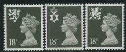1987 Gran Bretagna, Regina Elisabetta Ordinaria, Serie Completa Nuova (**) - 1952-.... (Elisabeth II.)