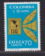COLOMBIE AERIENS N°  511 ** MNH Neuf Sans Charnière, TB (D6167) Exposition Philatélique - Colombie