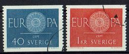 Schweden 1960 // Michel 463/464 O (019.755) - Schweden