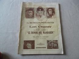 REVUE CINELANDIA JULIO 1927 - Revues & Journaux