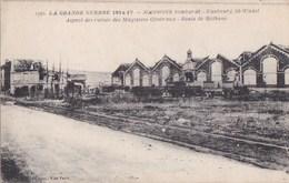 02 SOISSONS  Ruines De GUERRE  Faubourg SAINT WAAST Route De BETHUNE Magasins Généraux Bombardés - Soissons