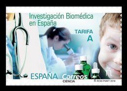 Spain 2018 Mih. 5220 Medicine. Biomedical Research MNH ** - 1931-Aujourd'hui: II. République - ....Juan Carlos I