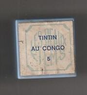 1 Film Fixe TINTIN  AU CONGO  N°5   (ETAT TTB ) - 35mm -16mm - 9,5+8+S8mm Film Rolls