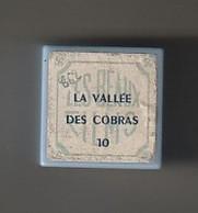 Film Fixe Jo  Zette Et Jocko (Les Aventures De)  La Vallée Des Cobras   N°10  PAR Hergé   (ETAT TTB ) - 35mm -16mm - 9,5+8+S8mm Film Rolls