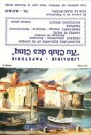 Petit Calendrier De Poche -   1988      H. Hénin    Peinture, Paysage, Mer, Barques - Calendriers