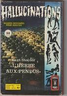 "HALLUCINATIONS   N° 48 Comics Pocket 1975  (poids 110 Gr) ""TB état"" - Hallucination"