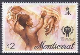 Montserrat 1979 Organisationen UNO ONU UNICEF Kinder Children Jahr Des Kindes, Mi. 405 ** - Montserrat