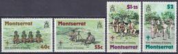Montserrat 1979 Organisationen Jugend Youth Pfadfinder Scouts Pathfinder Baden-Powell Morsen, Mi. 397-0** - Montserrat