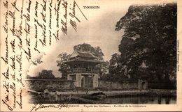 Tonkin - HANOI - Pagode Des Corbeaux - Pavillon De La Littérature - En L'état - Viêt-Nam