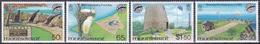 Montserrat 1981 Umwelt Environment Naturschutz Denkmalschutz National Trust Stiftung Vögel Birds, Mi. 461-4 ** - Montserrat
