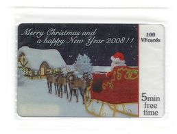 Greece - Amimex-VF Promotion - Merry Christmas Happy New Year Prepaids - 100ex (countable With No#), NSB - Greece