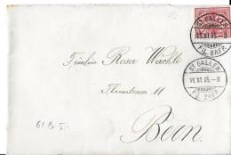 75 - 22 -  Enveloppe Envoyée De St Gallen 1905 - Lettres & Documents