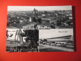 CARTOLINA   SALUTI DA CASCINA  VEDUTINE   ANIMATA        D - 3094 - Pisa