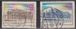 Österreich 1955 Nr.1020 - 1021  O Gest. Wiedereröffnung Des Burgtheaters Und Staatsoper  ( 5741 ) Günstige Versandkosten - 1945-.... 2ème République