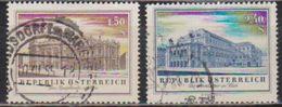 Österreich 1955 Nr.1020 - 1021  O Gest. Wiedereröffnung Des Burgtheaters Und Staatsoper  ( 5742 ) Günstige Versandkosten - 1945-.... 2ème République