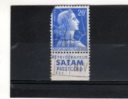 N° 1011B--20 F MULLER--PUB SATAM Froid - Advertising