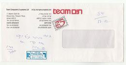 1999 ISRAEL COVER Illus ADVERT TEAM  COMPUTERS SYSTEMS Ltd Registered Petah Tiqua , Computing - Computers