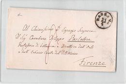 AG1612 BASSANO X FIRENZE - ANNO 1859 - SENZA TESTO - Lombardy-Venetia
