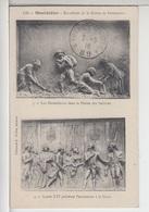 80 - MONTDIDIER - Bas Relief De La Statue Parmentier - Tampon Dos Trésorerie & Postes - Montdidier