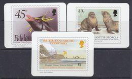 Falkland Islands, South Georgia, BAT 2003 Calender Cards   (38092) - Falklandeilanden