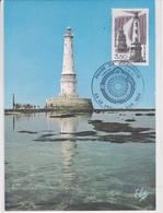 Phare De Cordouan Oblitération Du 23 Juin 1984 - Cartes-Maximum