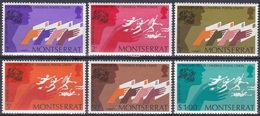 Montserrat 1974 Organisationen Postwesen Weltpostverein UPU Briefe Letters, Mi. 305-0 ** - Montserrat