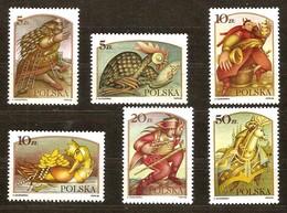 Pologne Poland Polen 1986  Yvertn° 2862-2867  *** MNH Cote 5,10 Euro Légendes Polonaises - 1944-.... République