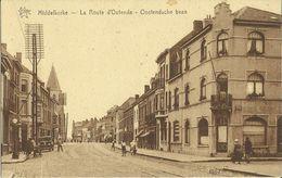 Middelkerke -- La Route D' Ostende.       ( 2 Scans ) - Middelkerke