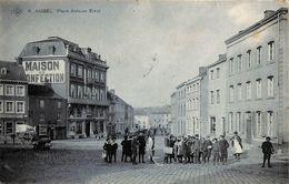 Aubel - Place Antoine Ernst (top Animation, SBP N°6, 1908, Peu Vue) - Aubel