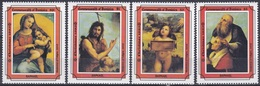 Dominica 1993 Religion Christentum Weihnachten Christmas Kunst Arts Kultur Gemälde Paintings Raffael, Aus Mi. 1786-3 ** - Dominica (1978-...)