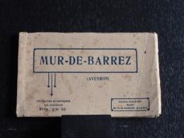 12 - Mur De Barrez - Carnet De 10 CPA Couleur - Edition Bazar Rouquet - France