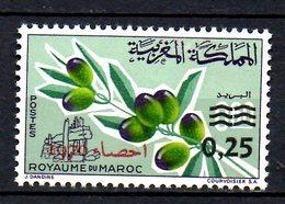 MAROC. N°604 De 1970. Recensement. - Morocco (1956-...)
