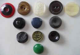 Lot De 12 Boutons - Buttons