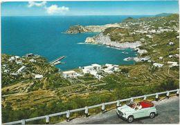 X1240 Isola Di Ponza (Latina) - Cala Feola - Panorama - Auto Cars Voitures / Viaggiata 1972 - Altre Città