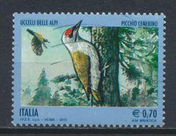 °°° ITALIA 2013 - UCCELLI DELLE ALPI - PICCHIO °°° - 6. 1946-.. Repubblica