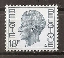 BELGIE * Nr 1586 * Postfris Xx * FLUOR PAPIER - 1970-1980 Elström