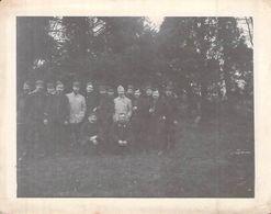 PHOTO ANCIENNE 1914 SOLDATS SERVICE DE SANTE BRAINE PAS DE CALAIS WW1 PREMIERE GUERRE 69 EME D I - Guerre, Militaire