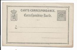 Luxemburg P 8 ** -  5 Ct Wappen Karte - Stamped Stationery