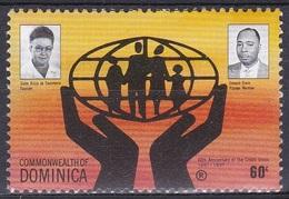 Dominica 1991 Wirtschaft Economy Geldwesen Bankenwesen Kredit-Union Credit Bank, Mi. 1471 ** - Dominica (1978-...)