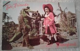 Disneyland - Captain Hook And The Crocodile - Two Friends Visit Disneyland - Disneyland