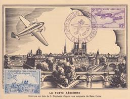 Exposition Philatélique De La Poste Aérienne Paris Oblitération Du 01/10/1943 - Autres