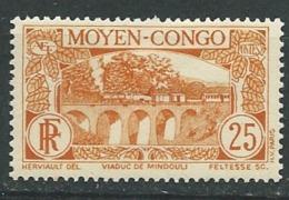 Congo Français - Yvert N°  120 *  -  Pa 11026 - Ongebruikt