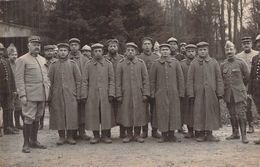 CARTE PHOTO ANCIENNE PRISONNIERS ALLEMANDS A BRAINE 1914 1918 WW1 PREMIERE GUERRE - Guerre, Militaire