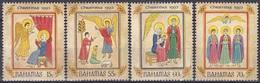 Bahamas 1993 Religion Christentum Weihnachten Christmas Noel Verkündigung Hirten, Mi. 821-4 ** - Bahamas (1973-...)